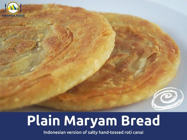 Roti Maryam rasa tawar plain - Piramida Food