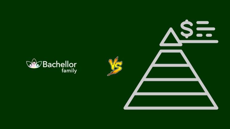 Bachellor Family Pirâmide Financeira Scam Ponzi Fraude Confiavel Furada - Versus