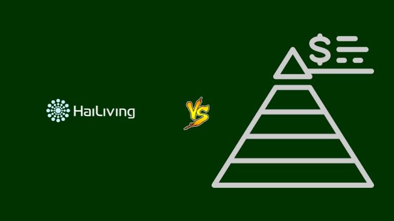 HaiLiving Pirâmide Financeira Scam Ponzi Fraude Confiavel Furada - Versus