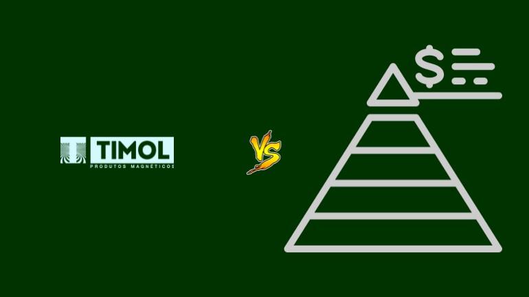 Timol Pirâmide Financeira Scam Ponzi Fraude Confiavel Furada - Versus