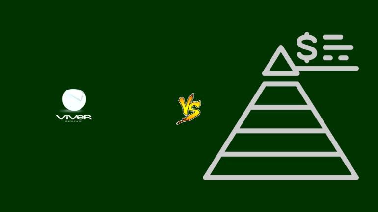 Viver Company Pirâmide Financeira Scam Ponzi Fraude Confiavel Furada - Versus