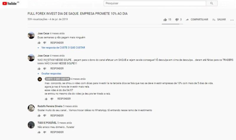 full forex invest parou pagar caiu furada golpe