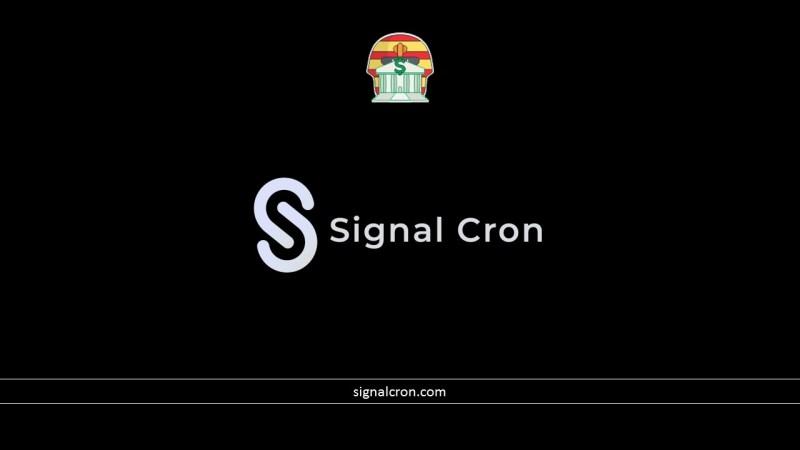 Signal Cron Pirâmide Financeira Scam Ponzi Fraude Confiavel Furada