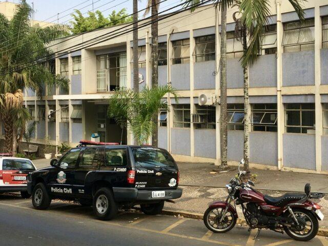 Foto da fachada do Plantão Policial de Piracicaba