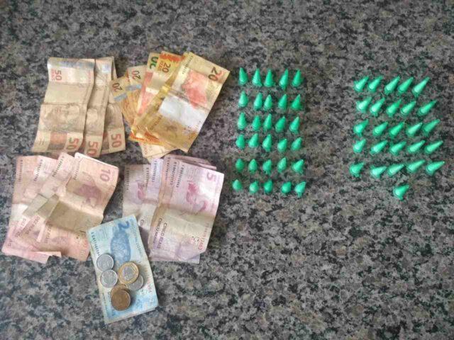 Em Piracicaba, traficante de drogas tenta fugir da PM, mas acaba capturado e preso