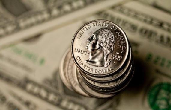 uma foto da cédula do dólar desta quarta-feira 21-10-2020