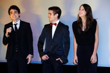 Fabio Audio, Ghilherme Lobo e Tess Amorim
