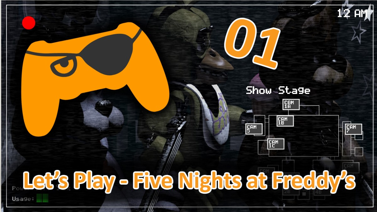 Not quite braving Five Nights at Freddy's – Let's Play