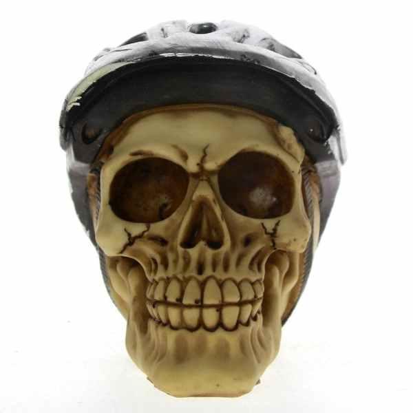 Skull head bicycle
