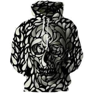 3D Skull Hoodie