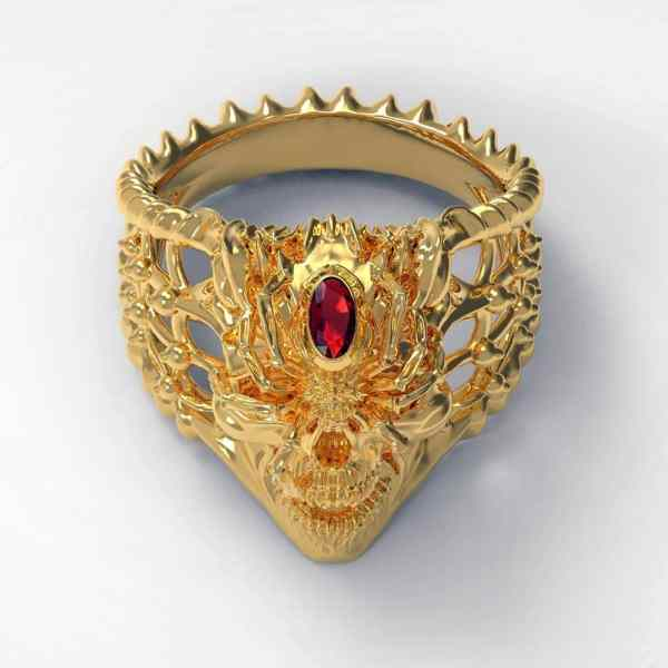 Gold Spider Ring to buy