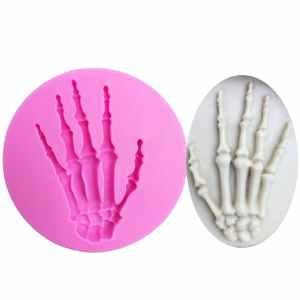 Skeleton hand mold