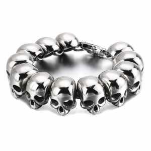 Skull head bracelet