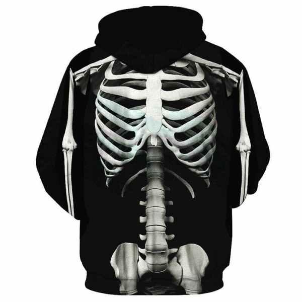 Skull Trooper Hoodie back