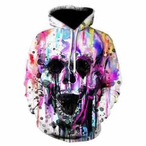 Art Skull Hoodie