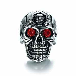 Ring with Skull