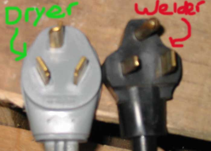 Dryer To Welder Wiring Verification (picture Included