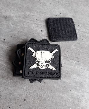 Patch White Skull