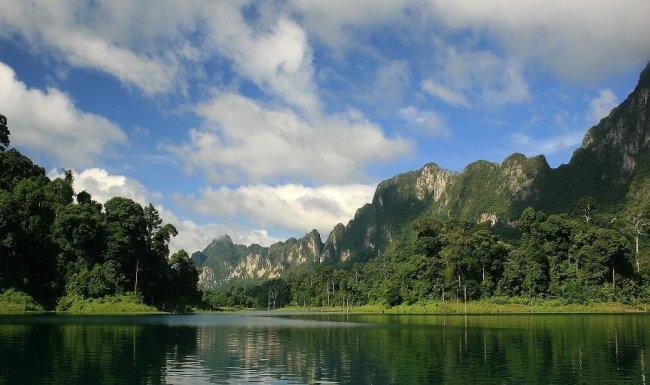 Beautiful khao sok