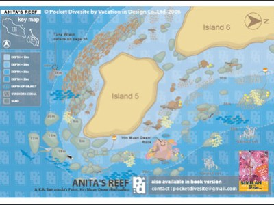 map of Anita