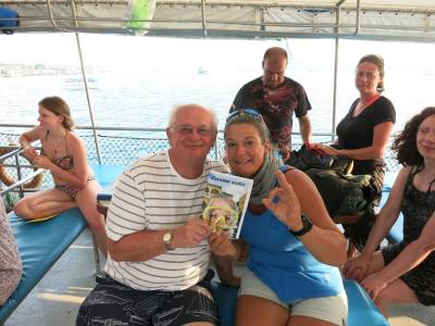 Discover Scuba Diving with customers
