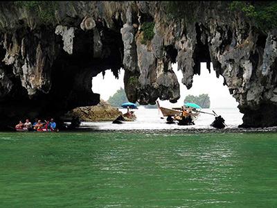 Hong island Caves