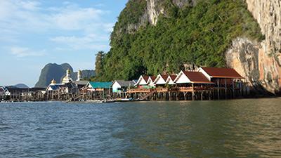 sea gypsy village hong Island