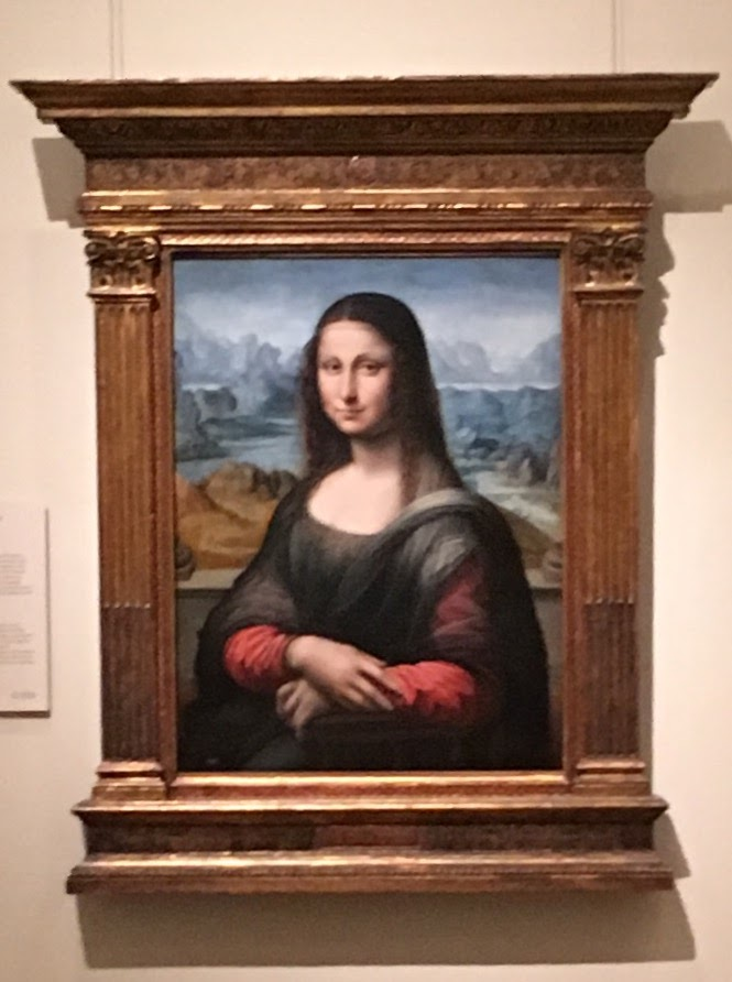 Mona Lisa Painted by one of Leonardo's apprentices and a better version in my opinion