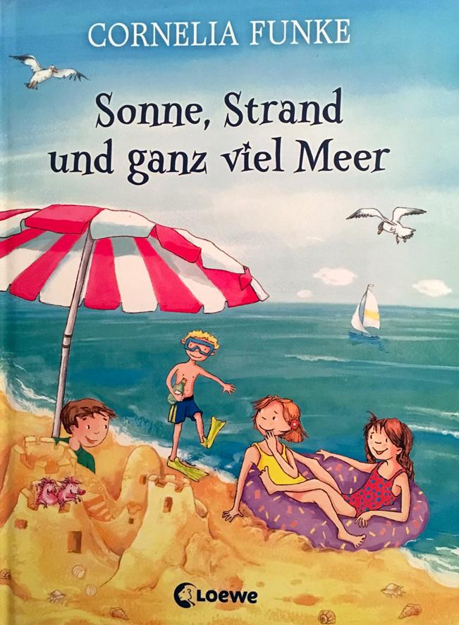 Sonne, Strand und ganz viel Meer. - Kurze und fröhliche Strandgeschichten für Leseanfänger!
