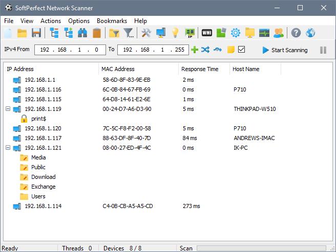 Softperfect Network Scanner Key