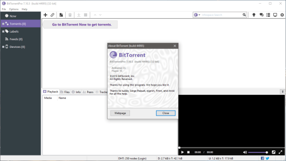 BitTorrent 7.10.5 Crack Activated Version 2019 Latest Free Download