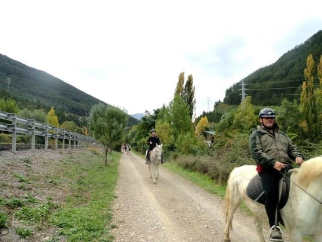 Paseos ecuestres por el Camino de Santiago