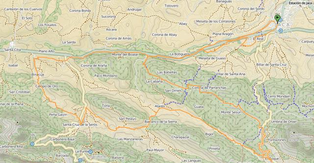 Mapa salida 1/05/2014