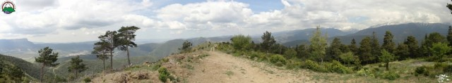 Panoramica de la bajada del Albarun