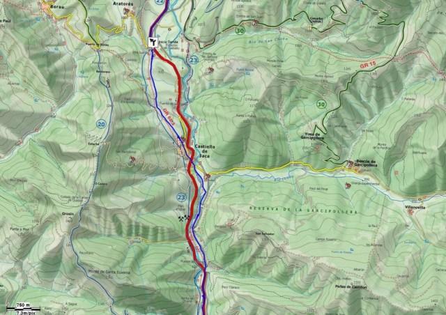 Mapa detalle Tramo 04