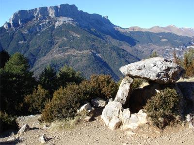 Dolmen de Tella, junto a Ordesa