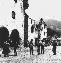 Bielsa durante la Guerra