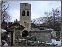 Iglesia de Nerin, entrada a Ordesa