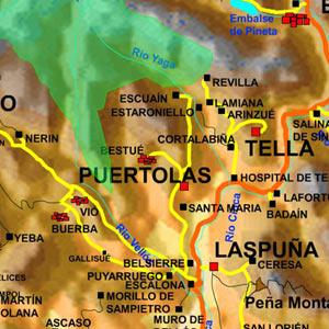 Mapa zona puértolas
