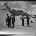 Esquiando en Candanchú