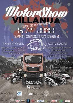 Villanúa Motorshow cartel