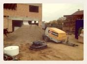 Netrukus betonuos terasą