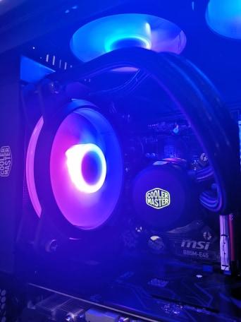 COOLER MASTER MASTERLIQUID L120L RGB REVIEW