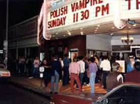 "Premiere of 'A Polish Vampire in Burbank"" at the Nuart Theatre in West Hollywood - midnight October 31st, 1983"