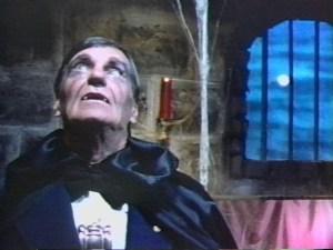 Hugh O. Fields as Father Vampire in Pirromount's 1983 comedy A Polish Vampire in Burbank
