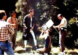 Queerwolf behind scenes