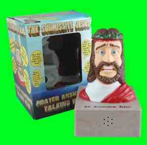 Submissive Jesus toy and box