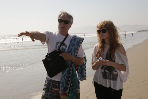 Shooting on Venice Beach with Mark Pirro and Stef Dawson.  Later that day, poor Stef got bitten by a stingray.