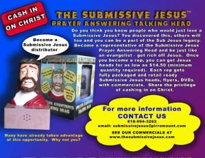 Submissive Jesus flyer