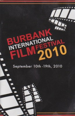 "Poster for Burbank Film Festival - when Pirromount's ""The God Complex"" played there"